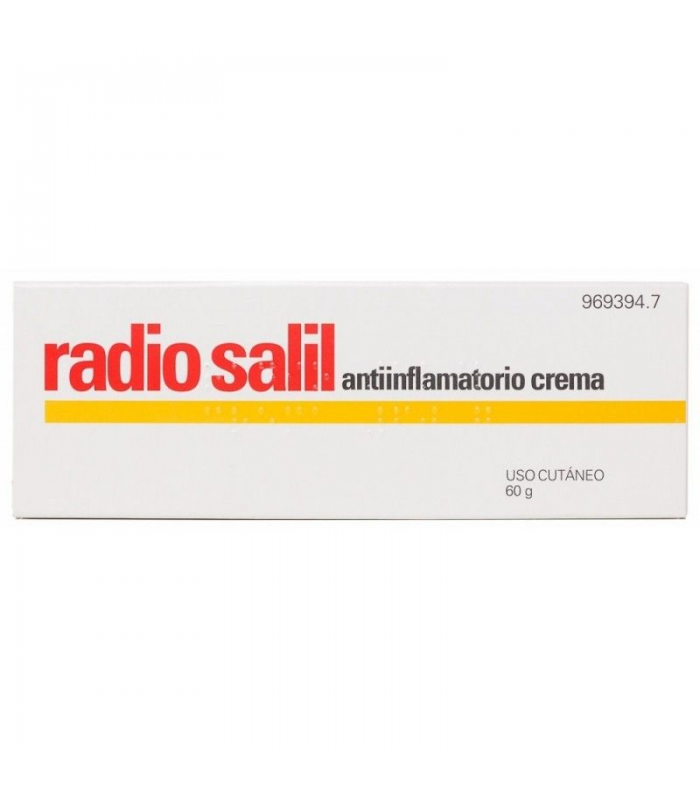 MEDICAMENTOS ONLINE - RADIO SALIL CREMA 60 GR -