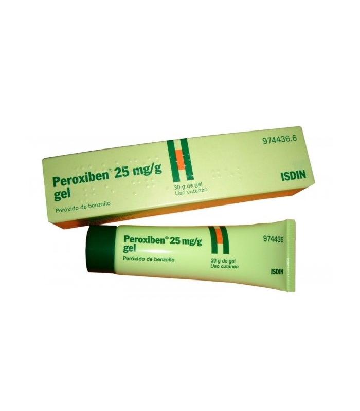 PEROXIBEN 25 MG/G GEL TOPICO 30 GR