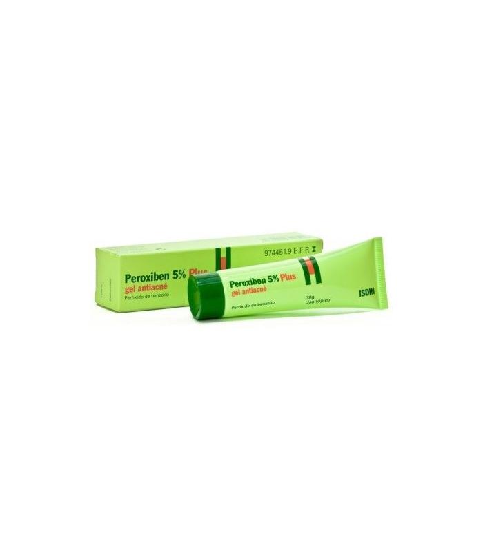 MEDICAMENTOS ONLINE - PEROXIBEN 50 MG/G GEL TOPICO 30 GR -