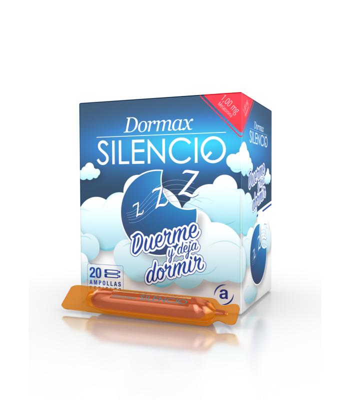 INSOMNIO - DORMAX SILENCIO 20 AMPOLLAS BEBIBLES X 10 ML -