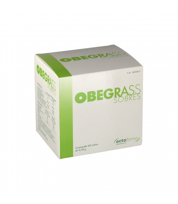 DIETA - OBEGRASS 60 SOBRES ADELGAZANTE -