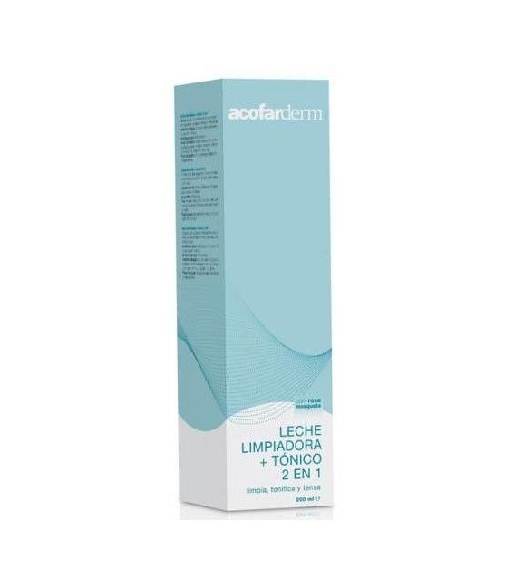 LIMPIADORAS - ACODERM LECHE LIMPIADORA + TONICO 200 ML -