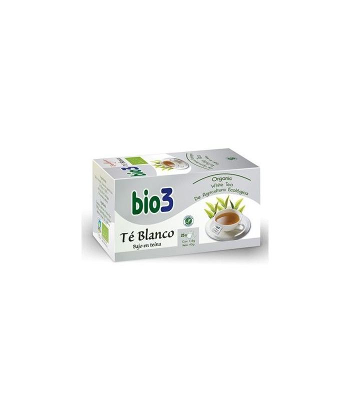INFUSIONES - BIO3 TE BLANCO ECOLOGICO 25 BOLSITA -