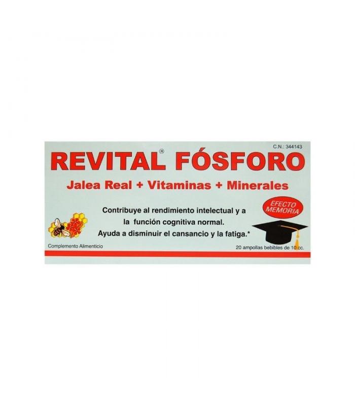 COMPLEMENTOS ALIMENTICIOS - REVITAL FOSFORO 20 AMPOLLAS -