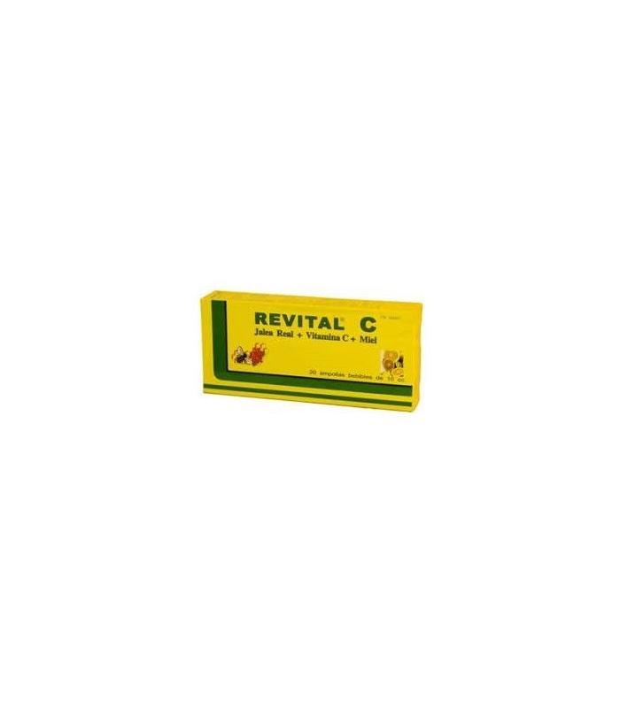 COMPLEMENTOS ALIMENTICIOS - REVITAL C JALEA REAL + C + MIEL 20 AMPOLLAS -