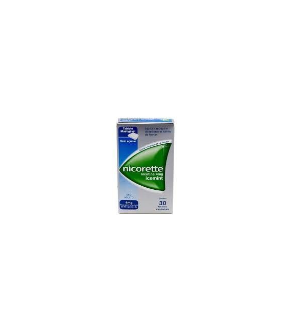 MEDICAMENTOS ONLINE - NICORETTE CLASSIC 4 MG 30 CHICLES -