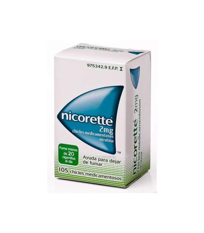 MEDICAMENTOS ONLINE - NICORETTE 2 MG 105 CHICLES -