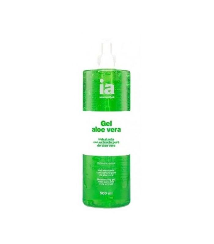HIDRATACIÓN - Interapothek Gel Aloe Vera Puro 500 ml -