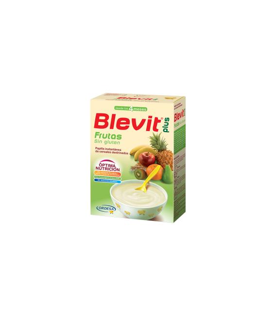 PAPILLAS - Blevit Plus Frutas Sin Gluten 300 Gramos -