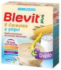 BLEVIT PLUS DUPLO 8 CEREALES + YOGURT 600 GR