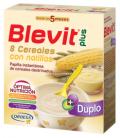 PAPILLAS - BLEVIT PLUS DUPLO 8 CEREALES + NATILLAS 600 GR -