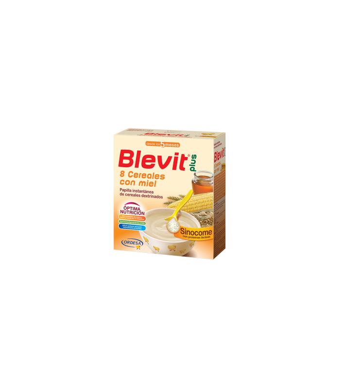 PAPILLAS - BLEVIT PLUS SINOCOME 8 CEREALES CON MIEL 600 GR -