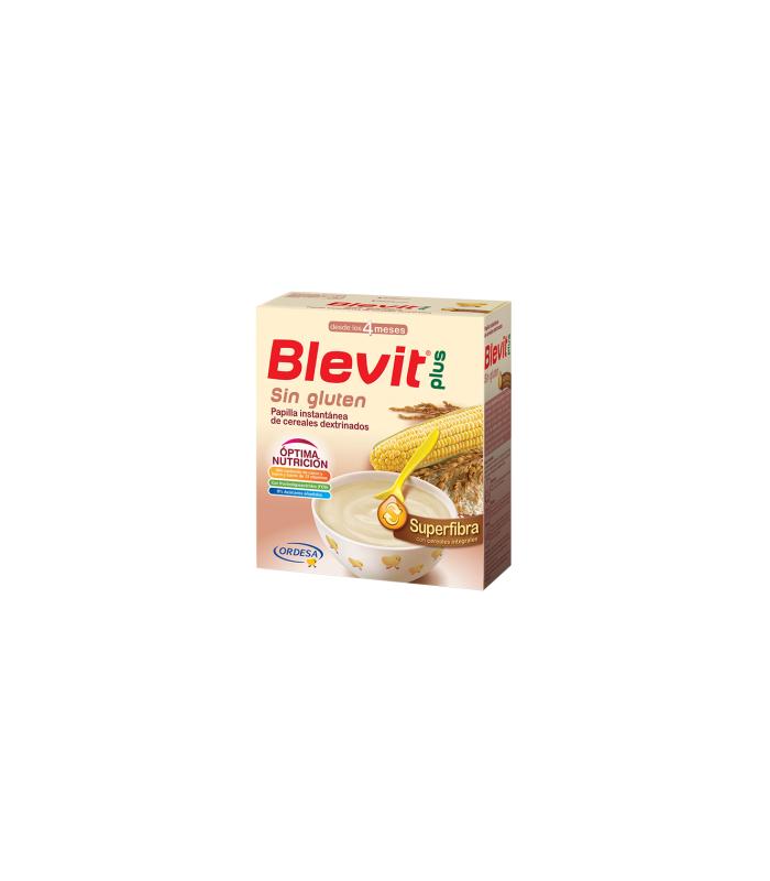 PAPILLAS - Blevit Plus Superfibra Apto Dieta Sin Gluten 600 Gramos -