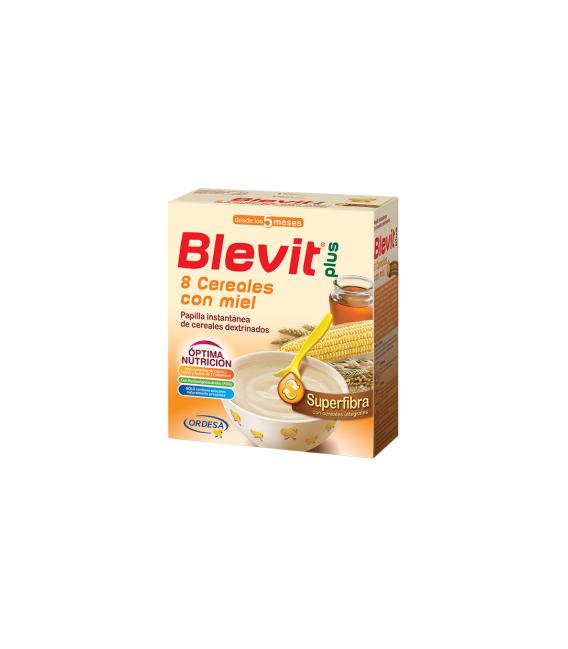 PAPILLAS - Blevit Plus Superfibra 8 Cereales Con Miel -