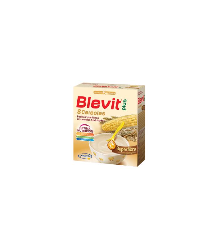 PAPILLAS - Blevit Plus 8 Cereales Superfibra 600 Gramos -