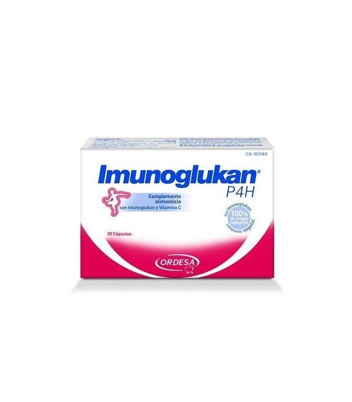 INFANTIL - IMUNOGLUKAN P4H 30 CAPSULAS -