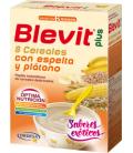 Blevit Plus Puré 8 Cereales con Espelta y Plátano 300 g