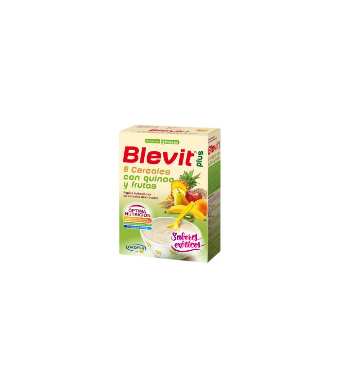 Blevit Plus Puré 8 Cereales con Quinoa y Frutas 300 g