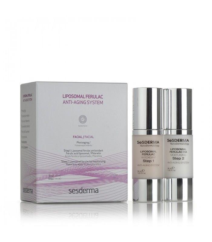 ANTIARRUGAS - Sesderma Liposomal Ferulac Anti-aging System 30 + 30 ml -