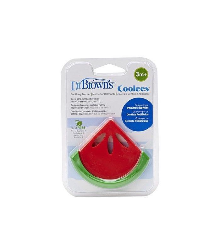 Accesorios de Bebé - Dr. Browns Mordedor Calmante Forma Sandía Cooles -
