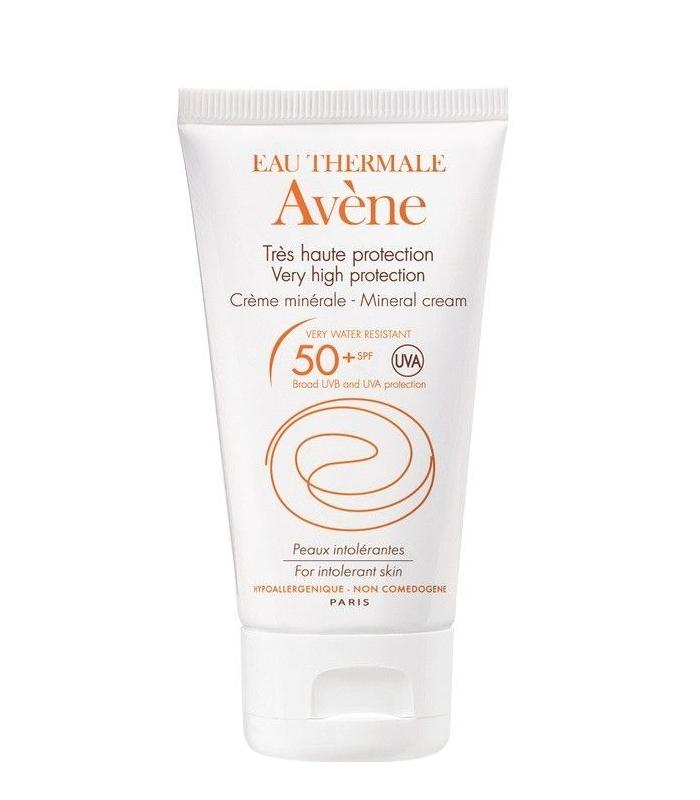 Avene Solar SPF50+ Crema Pantalla Fisica 50 ml