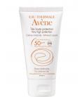 PROTECCIÓN FACIAL - Avene Solar SPF50+ Crema Pantalla Fisica 50 ml -
