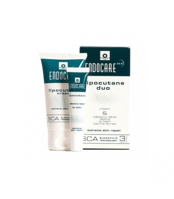 LABIOS - Endocare Lipocutane Duo Cream y Balsamo -