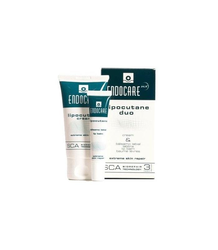 Endocare Lipocutane Duo Cream y Balsamo