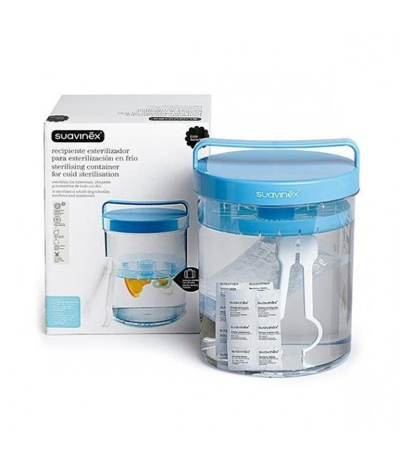 Accesorios de Bebé - Suavinex Recipiente Esterilizador Esterliser -