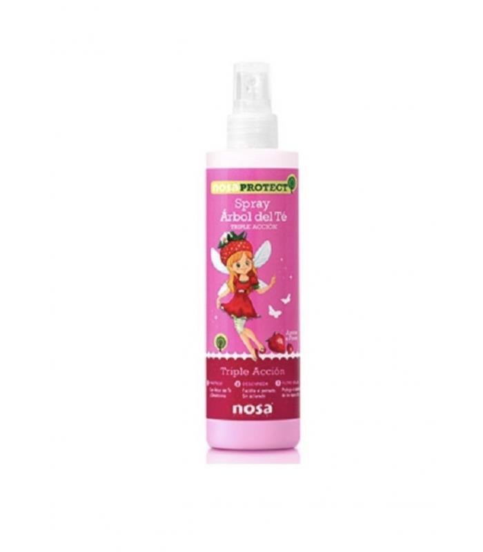 Nosa Spray Desenredante Arbol Del Te Verde Fresa 250 Ml