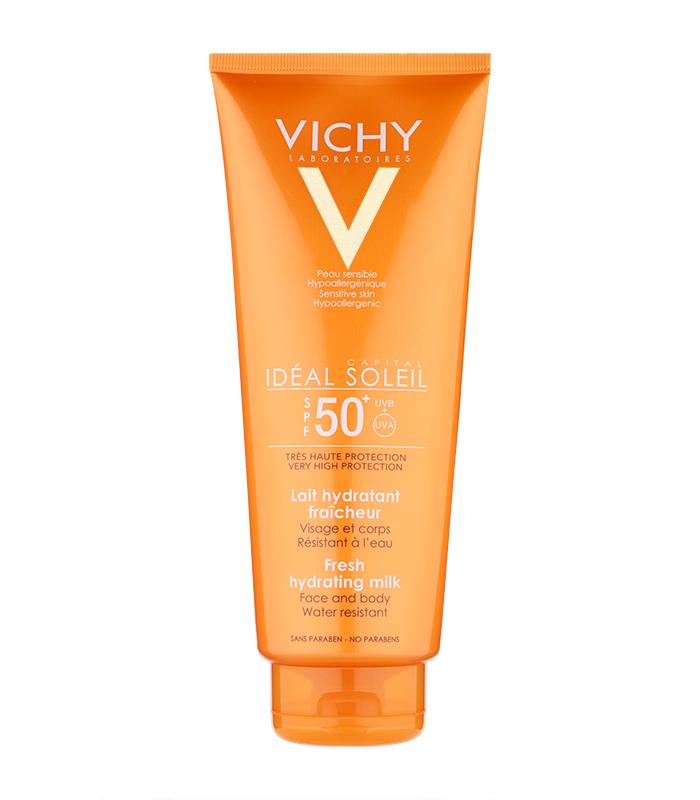 PROTECCIÓN CORPORAL - Vichy Idéal Soleil Leche Hidratante SPF50+ 300 ml -