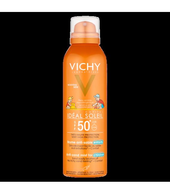 PROTECCIÓN NIÑOS - Vichy Ideal Soleil SPF50+ Bruma Anti-arena Infantil 200 ml -