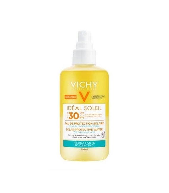 PROTECCIÓN CORPORAL - Vichy Ideal Soleil Agua De Protección Solar Con Ácido Hialurónico De Origen Natural SPF 30 200 ml