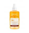 PROTECCIÓN CORPORAL - Vichy Ideal Soleil Agua De Protección Solar Con Beta Caroteno SPF30+ 200 ml -