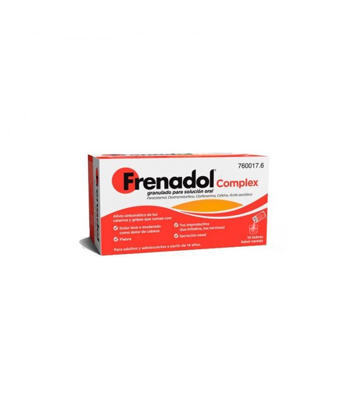 MEDICAMENTOS ONLINE - FRENADOL COMPLEX GRANULADO 10 SOBRES -