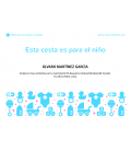 Canastillas de Bebé - Canastilla bebé Junior en azul -