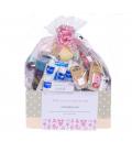 Canastillas de Bebé - Canastilla bebé Premium en rosa -