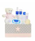 Canastilla bebé Junior en rosa