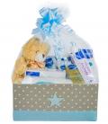 Canastilla Bebé Super Pack Mustela en Azul