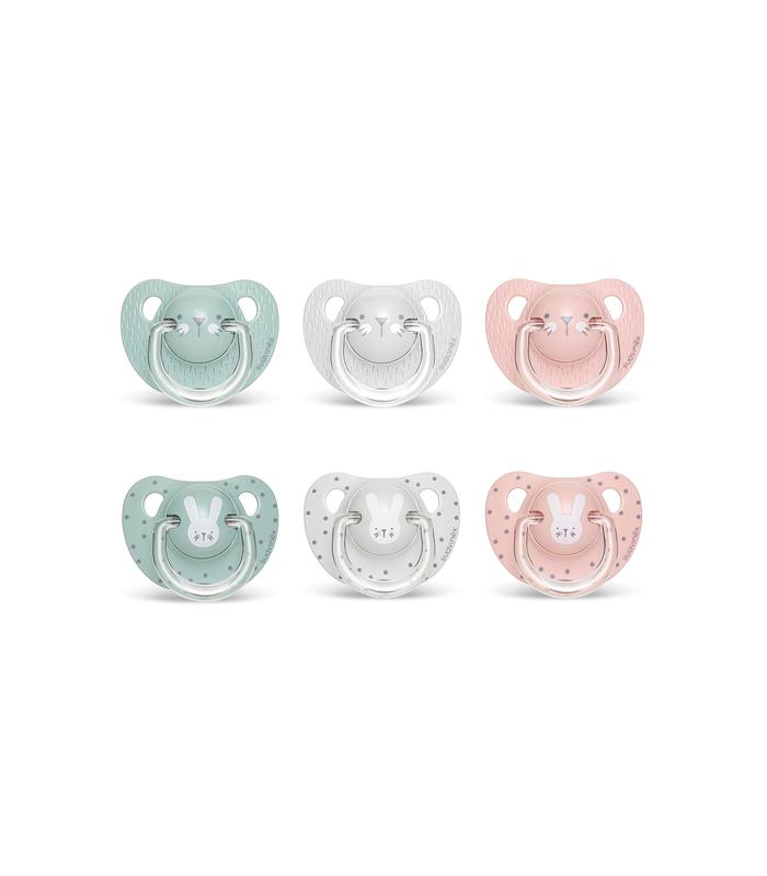 Chupetes para Bebé - Suavinex Chupete Evolution Siliconal 0-6 Meses -