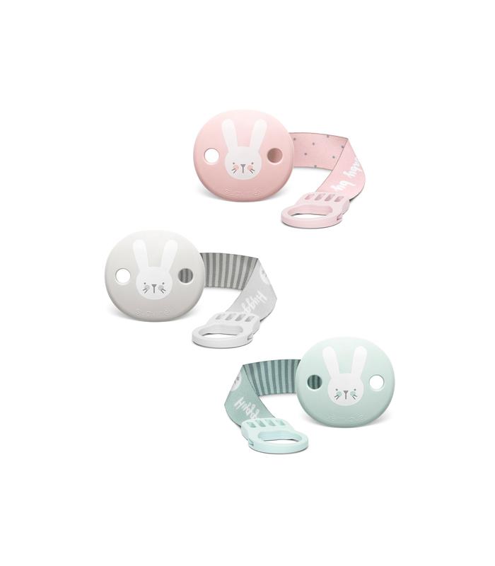 Accesorios de Bebé - Suavinex Broche Pinza de Oso con Cinta Para Chupetes -