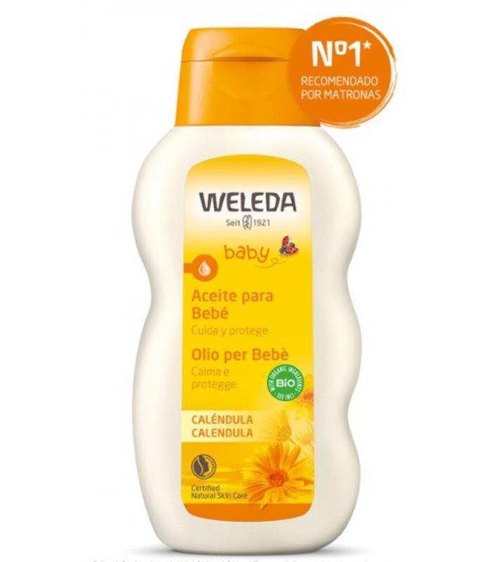 PIEL DEL BEBÉ - Weleda Aceite para Bebé Calendula 200 ml -