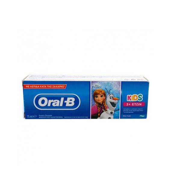 Oral B Pasta Dental Cars/Frozen 75ml
