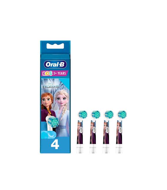 Oral B Recambio Cepillo Dental Kids Frozen 4 unidades