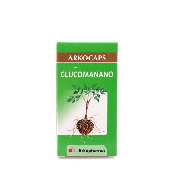 DIETA - Arkocapsulas Glucomanano 80 Cápsulas -