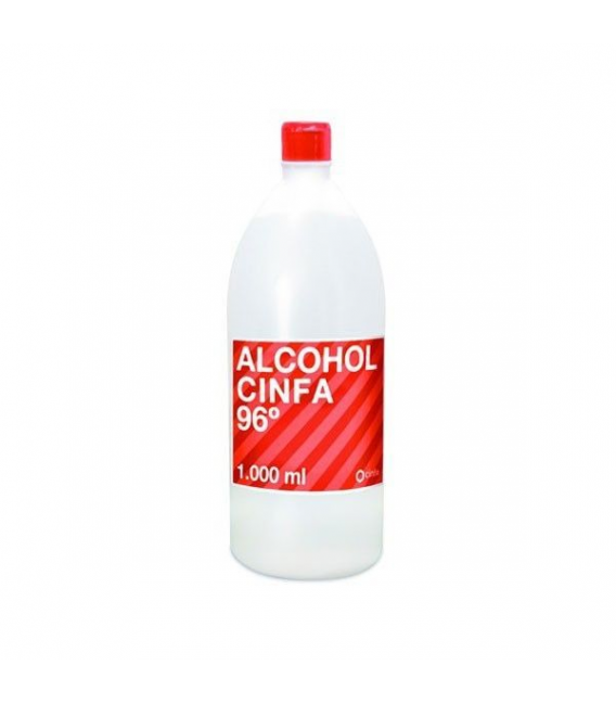 BOTIQUÍN - Cinfa Alcohol 96 1000 ml -