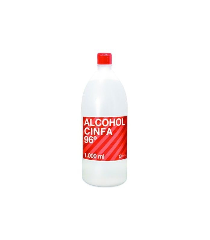 BOTIQUÍN - Cinfa Alcohol 96 1000 ml -