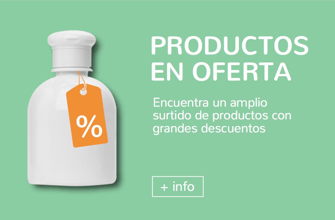 Productos de farmacia en oferta