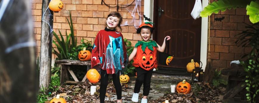 Como disfrutar un día de Halloween seguro para los niños